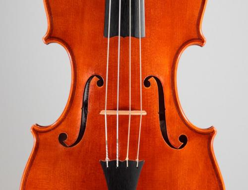 """Violin Alberto Cassutti 2013 """"Papa Francesco I°"""""""