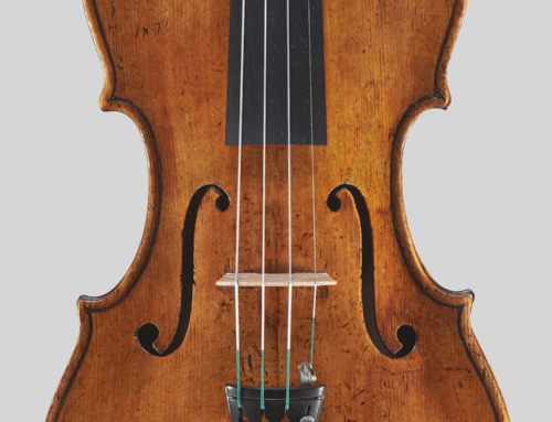 Violin Vincenzo Jorio – Naples 1852